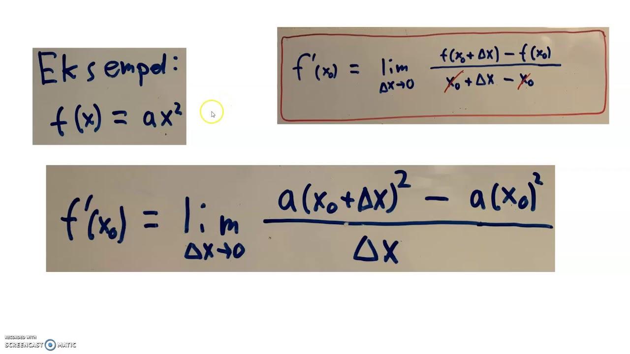 Differentialregning introduktion