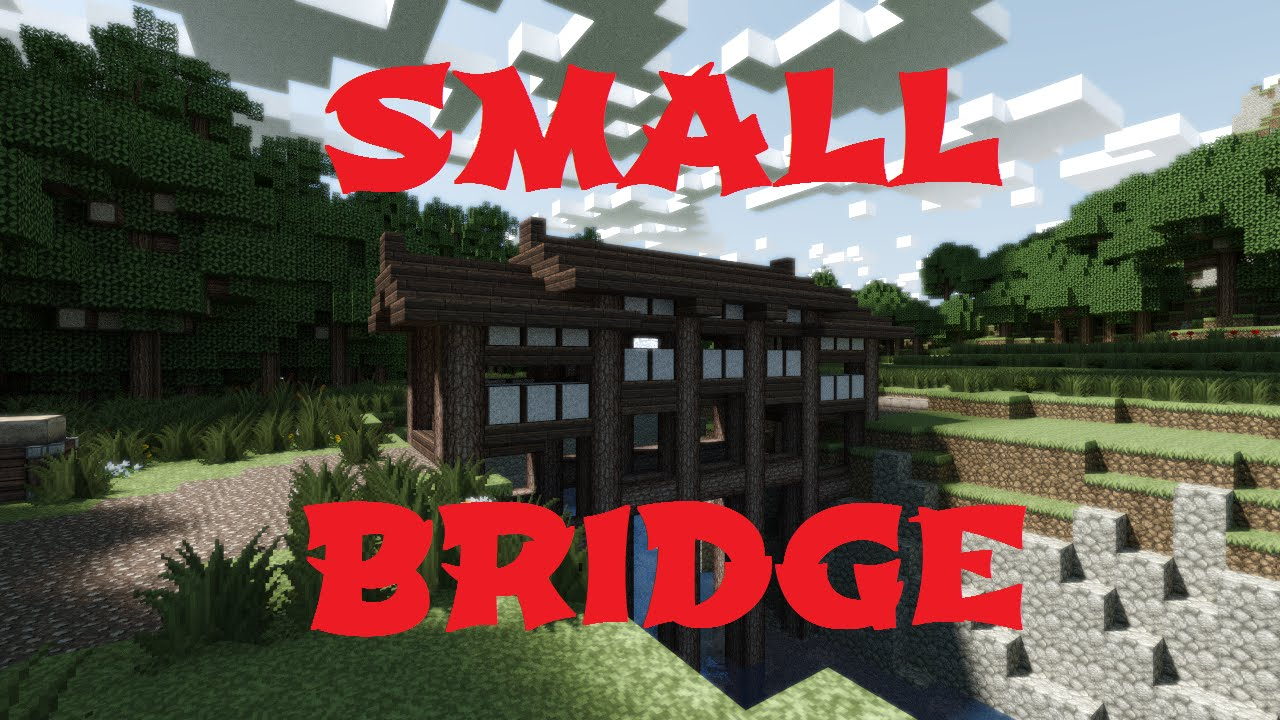 minecraft small japanese bridge youtube - Minecraft Japanese Bridge