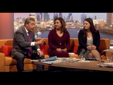 Nigel Farage On The BBC's Andrew Marr Show - Full Interview - Full HD - 03-12-2017