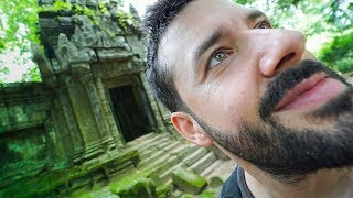 VISITING TEMPLES LOST IN THE JUNGLE