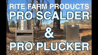 CHICKEN SCALDER & PLUCKER: Rite Farm Products