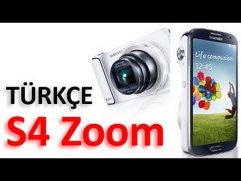 Samsung Galaxy S4 Zoom TÜRKÇE