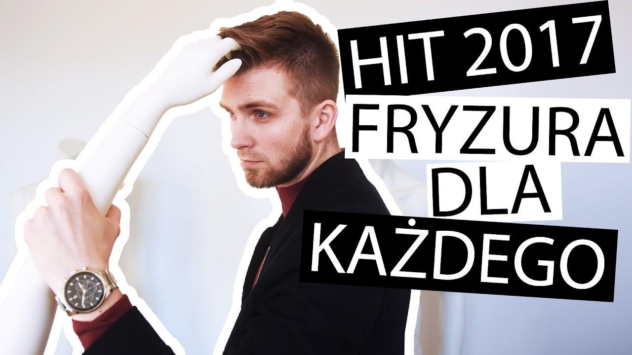 Hit Sezonu Męskie Fryzury 2017 Youtube