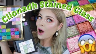 Swatching The ENTIRE Clionadh Stained Glass Collection