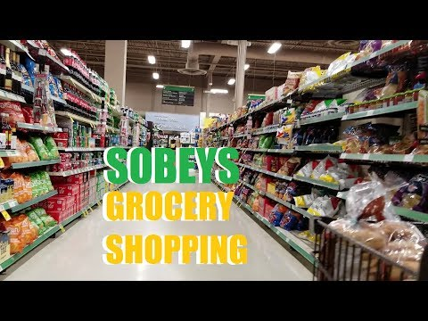 Grocery Shopping At Sobeys, Moncton | CORALADDICT