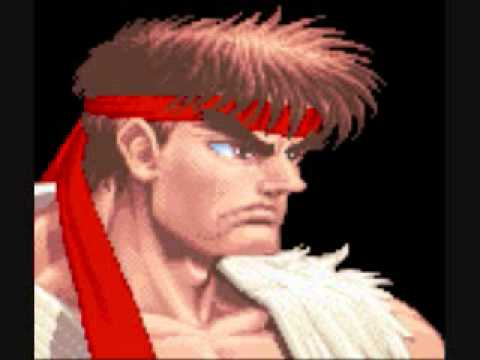 Super Street Fighter 2 Snes Theme Of Ryu Youtube