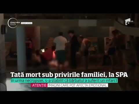 Un tată a murit sub ochii copiilor săi, într-un centru SPA din Baia Mare