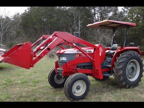 Mahindra 6000 Diesel Tractor w/ Loader coming for sale in TN $16,900
