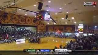 Todd County vs Aberdeen Roncalli (Girls Round of 16)
