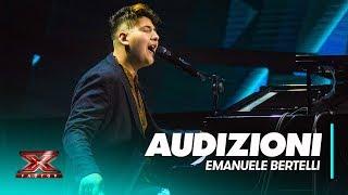 Emanuele Bertelli inaugura X Factor 2018 | Audizioni 1