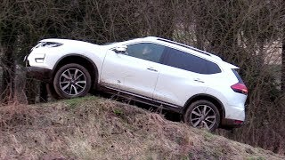 New 2018 Nissan X-TRAIL 2,0 dCi 4x4 | Road, off-road driving footage