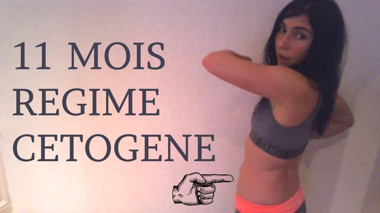 régime cétogène perte de poids un mois