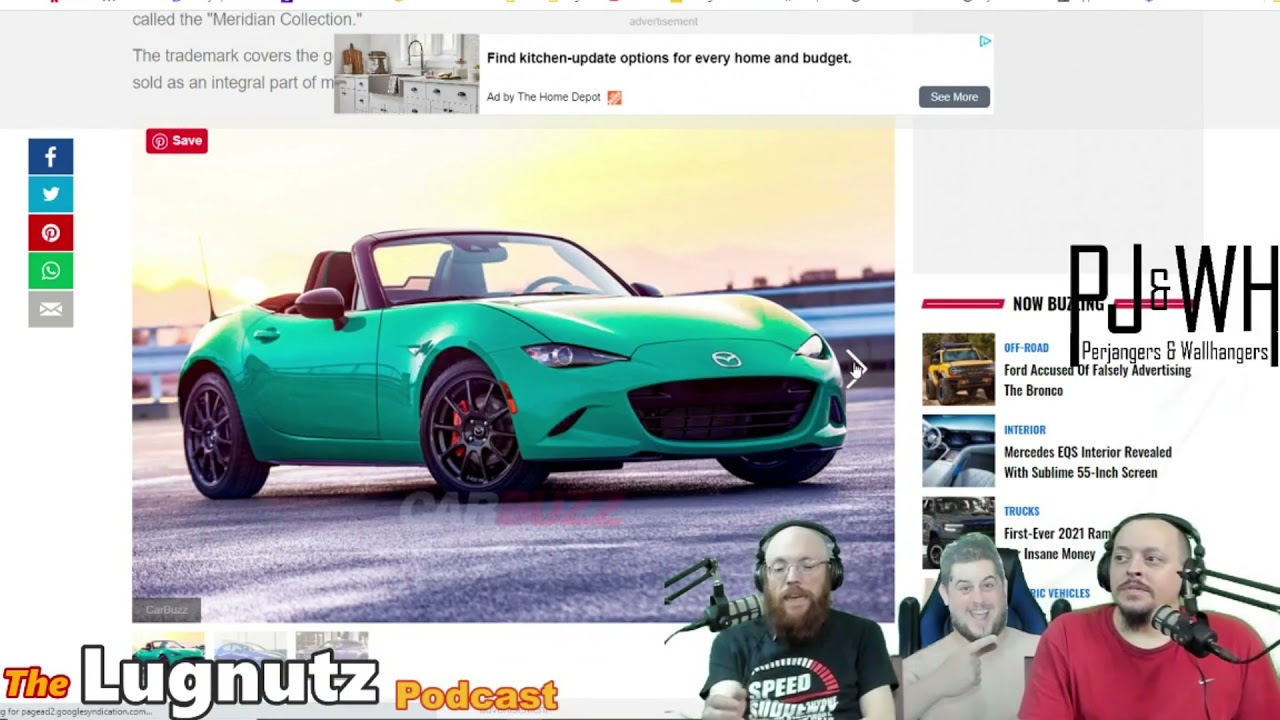 #209 Lugnutz Podcast: Pinky Out Ford Ranger Reskinned