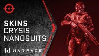 Warface - Skins - Nanosuit Skins