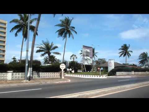Driving from Libreville airport to town