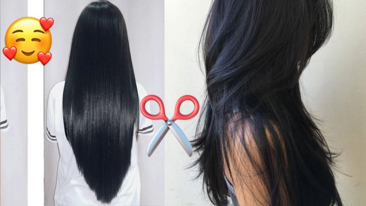 Corte de cabello en una sola capa