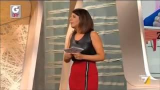 G'day - Daniele Bossari e Myrta Merlino protagonisti del 'Vero o Falso' (19/09/2012)