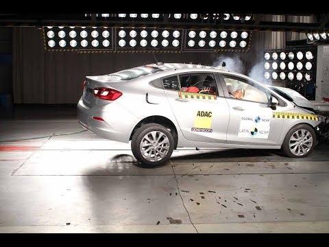 Chevrolet Cruze 2019 Obtiene 5 Estrellas En Prueba De Latin NCAP