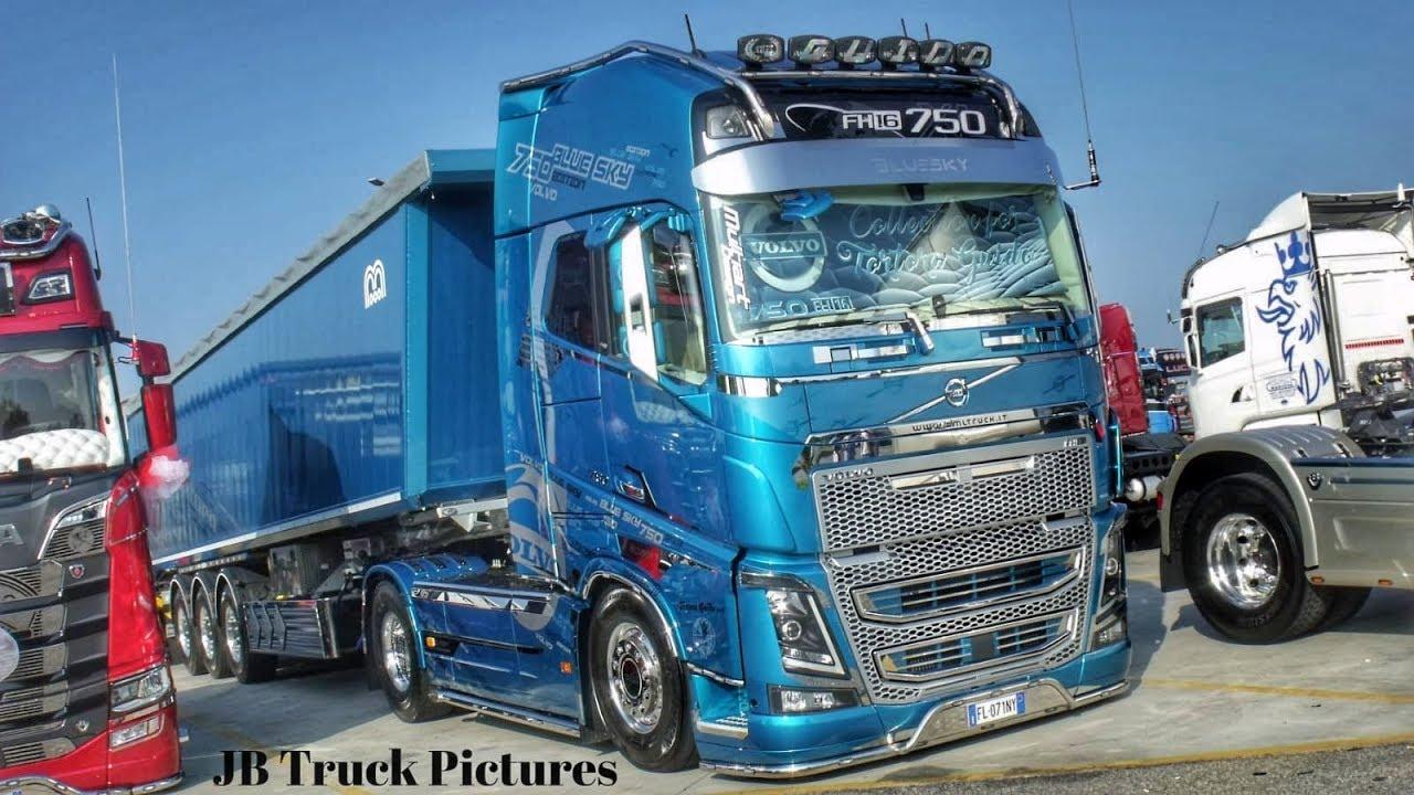 Volvo Fh16 750 Blue Sky Edition Team Tortora