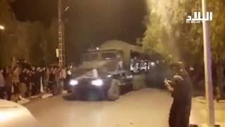 مشهد مؤثر ...استقبال شعبي للقوات المسلحة بعد القضاء على 18 ارهابي بالمدية -el bilad tv -