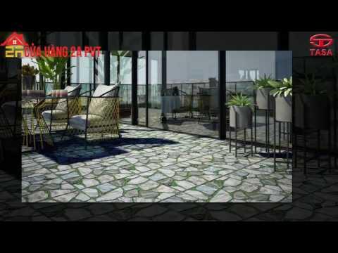 Gạch sân vườn Tasa - gạch sân vườn 50x50 giá rẻ | gạch rẻ gò vấp