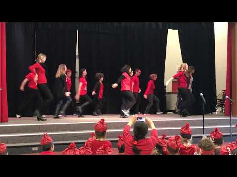 Adobe Bluffs Elementary School Lunar New Year TeacherDance