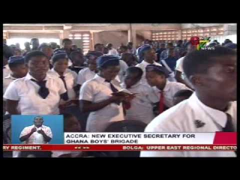 New Executive Secretary For Ghana Boys Brigade