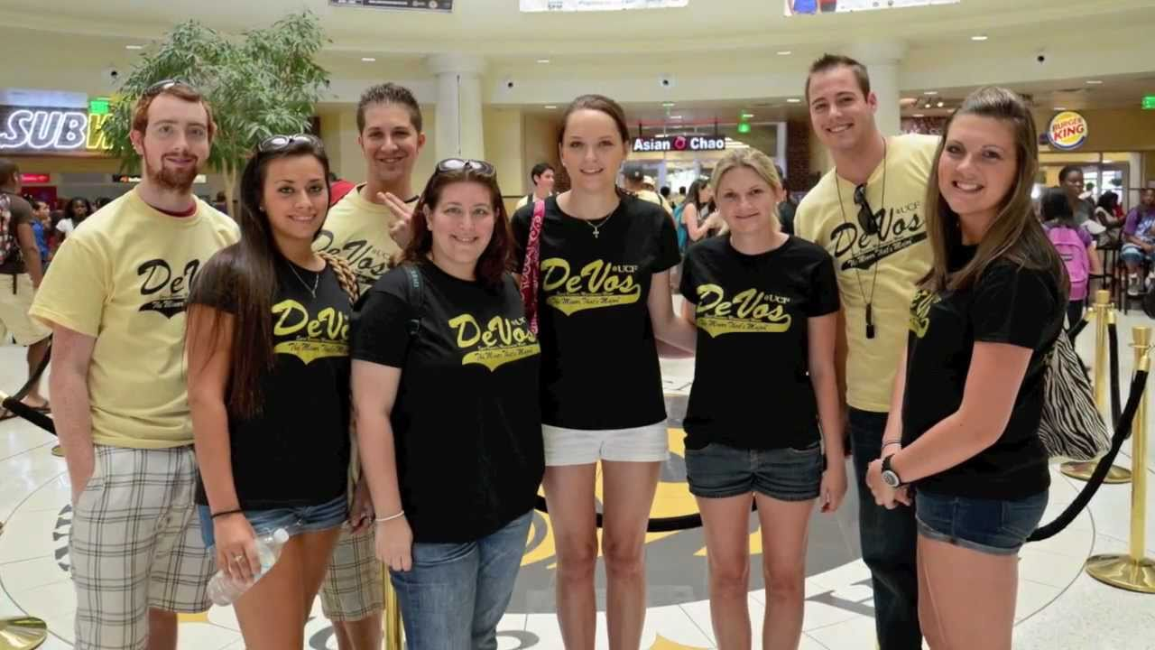 Ucf Devos Sport Business Management Minor Flash Mob 2011 Youtube