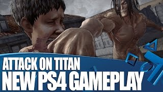 Attack On Titan - New PS4 Gameplay