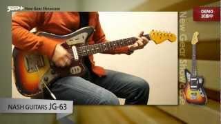 エンドース契約をしないことで知られる、ナッシュ・ギター。ということは、キース・リチャーズもデイヴィッド・ギルモアもジョー・バナマッ...