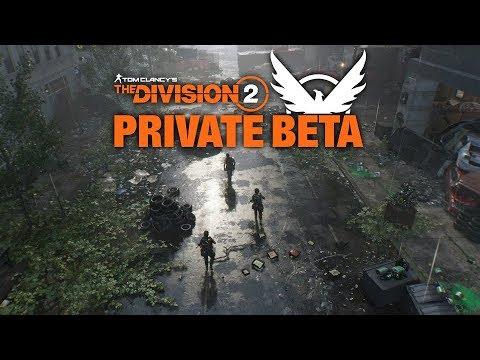 ลองเล่น The Division 2 Private Beta
