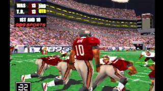 NFL GameDay 2000 Playstation (Redskins vs Buccaneers)