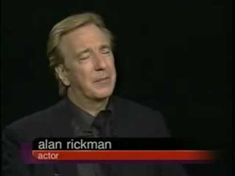 Alan Rickman Interview With Charlie Rose (1/3)