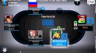 Poker 888 Moblie Application by Poker 888