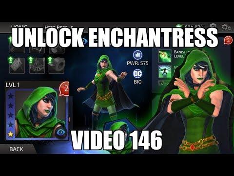 DC Legends Game Video 146 = Unlock Enchantress