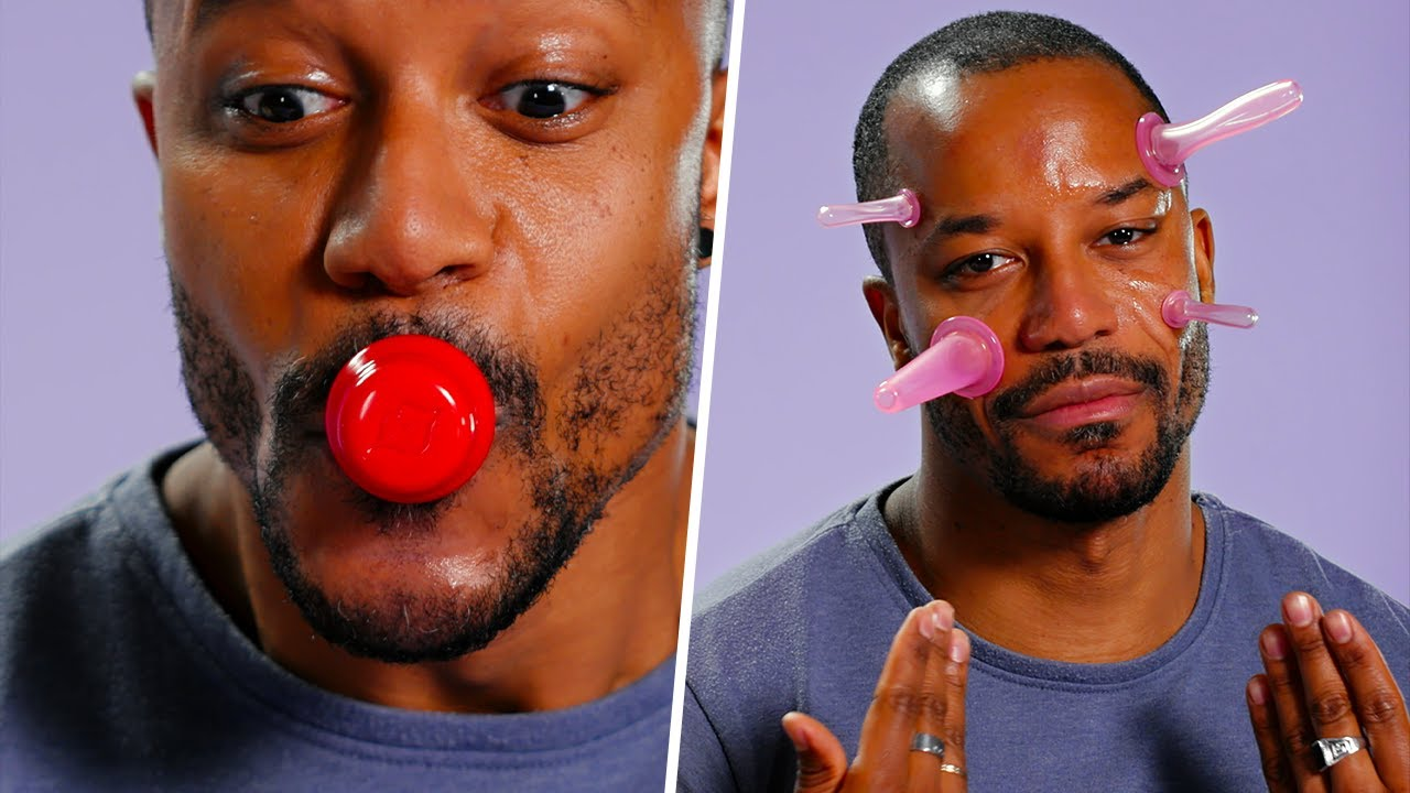 TESTING and GUESSING what these WEIRD BEAUTY GADGETS are for!