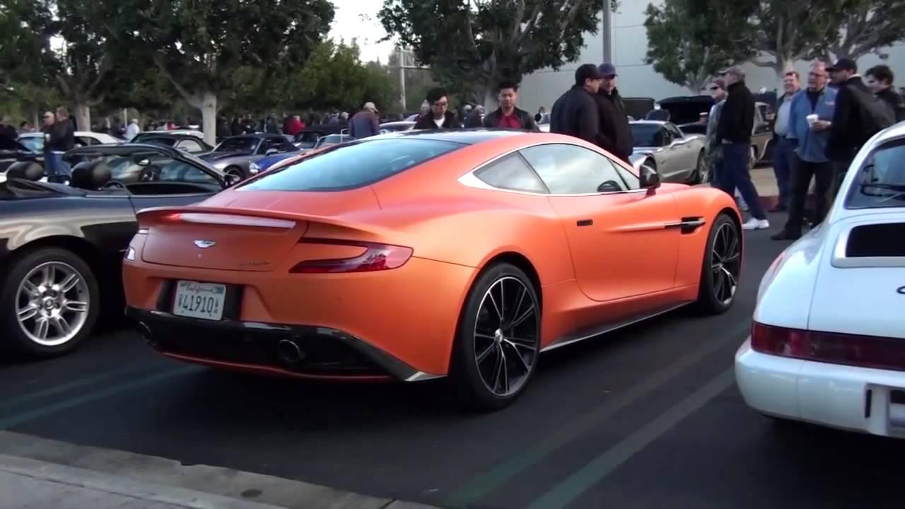 NEW 2013 Aston Martin VANQUISH - Matte Orange! - YouTube