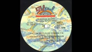 VAUGHAN MASON Featuring BUTCH DAYO - You Can't Do It [Club Version]