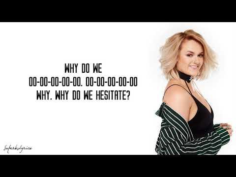 Grace Davies - Hesitate (Lyrics)(X-Factor 2017)