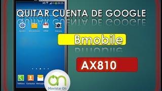 quitar cuenta google bmobile ax810 frp bypass