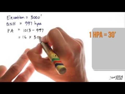 102 - Density Altitude Calculations (Era Flug Aviation Tutorials)