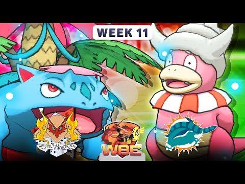 Pokemon Sun & Moon WiFi Battle • Bristol City Blazikens vs Miami Donphans • WBE W11S1