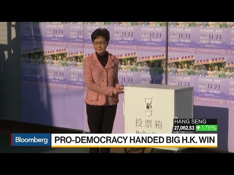 Hong Kong Voters Rebuke China In Elections