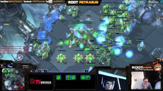 Pet Plays Protoss! Coached by Caliber!