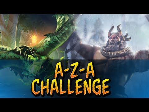 Dota 2 - A-Z-A Challenge Beastmaster & Viper