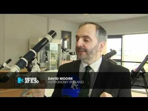 TV3's 5:30 news on September 23rd 2011 covering the UARS satellite returning to earth