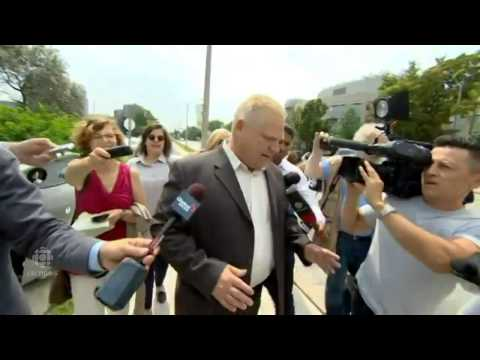 Coun. Doug Ford responds to Police Chief Bill Blair's defamation notice: RAW VIDEO