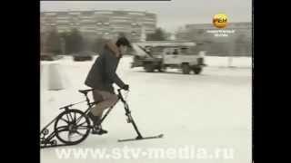 видео Детский спорт на зимнем отдыхе: лыжи и коньки