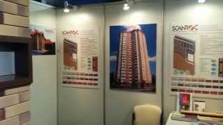 SCANROC стенд на строительной выставке(Преимущества швейцарских навесных вентилируемых фасадов: -Энергосберегающие системы облицовки фасадов..., 2015-09-28T15:49:43.000Z)