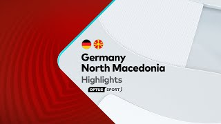 HIGHLIGHTS: Germany v North Macedonia | FIFA World Cup European Qualifiers